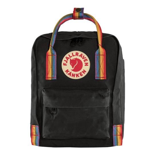 F23621550-Mochila-Kanken-Rainbow-Mini-Black-Pattern-Original-1
